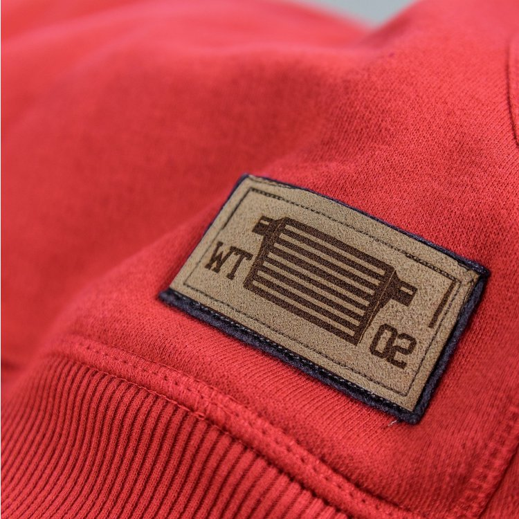 Hoodie »Intercooled Red«  -XL