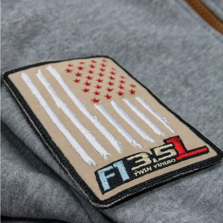 Hoodie zipped »Ford F1 Grey« S