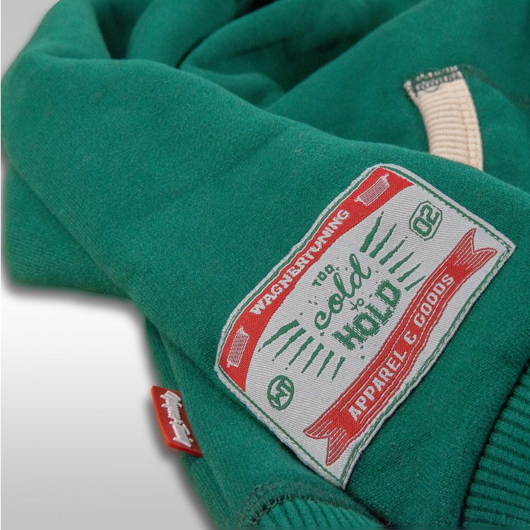 Wagner Tuning »2C2H Green« Hoodie zipped