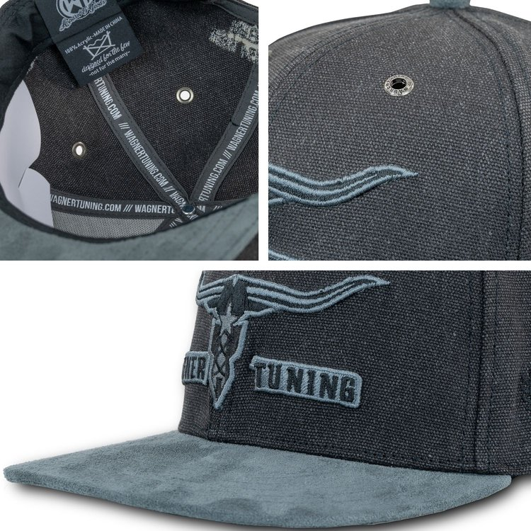 WAGNERTUNING Snapback Cap »Black Horn Patch«