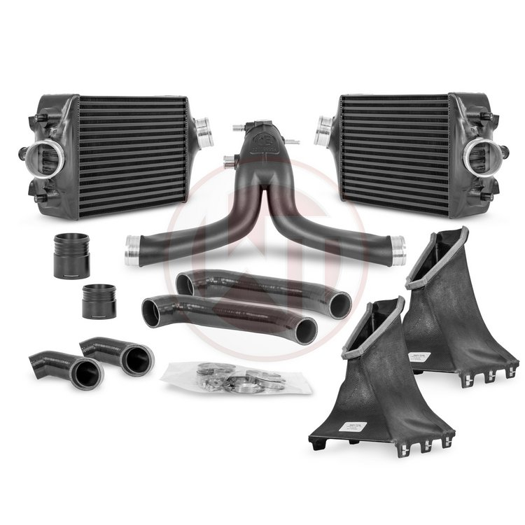 Comp. Package Porsche 991 Turbo(S) Intercooler Kit / Y-charge pipe