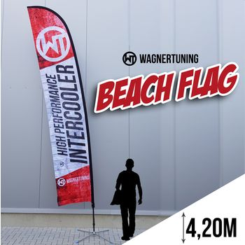 WAGNERTUNING Beachflag Set 4,20m